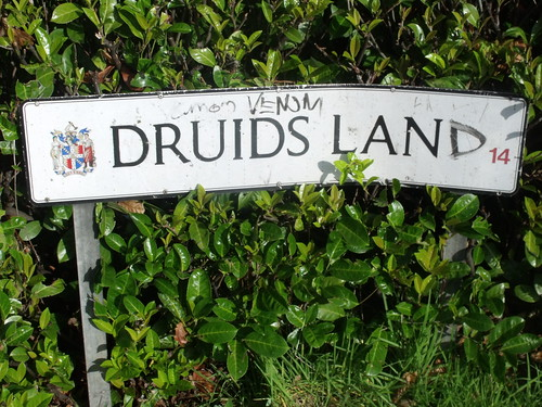 Druids Land (Druids Lane) - sign in the Maypole | by ell brown