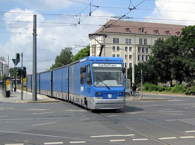 CarGo Tram Dresden 2010