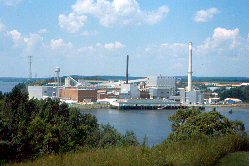 Bucksport - Champion International Paper Mill | The Champion… | Flickr