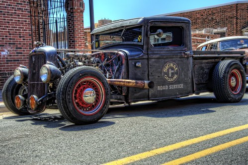 truck nc nikon rat northcarolina pickup pickuptruck hotrod hdr winstonsalem topaz ratrod hrw photomatix kustomkulture heavyrebelweekender dougjohnson d700 topazadjust
