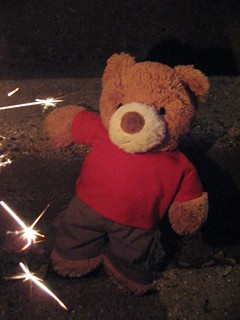 My First Fireworks (scary)