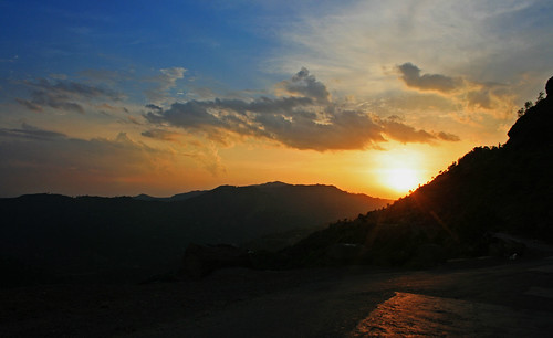 sunset nature ak kashmir ajk azadjammuandkashmir rawalkot goinnullah
