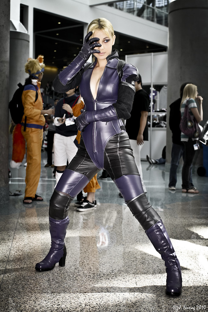 Jill Valentine In Her Battle Suit From Resident Evil 5