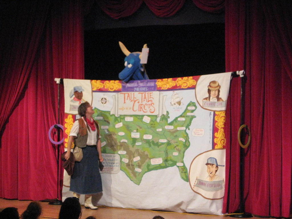 At the Tall Tale Circus
