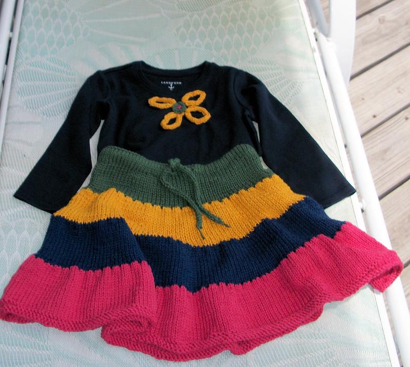 Sonya's Twirly Skirt
