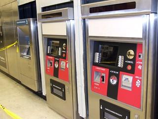 Muni Clipper Ticketing Machine - Powell Station Secondary Gates