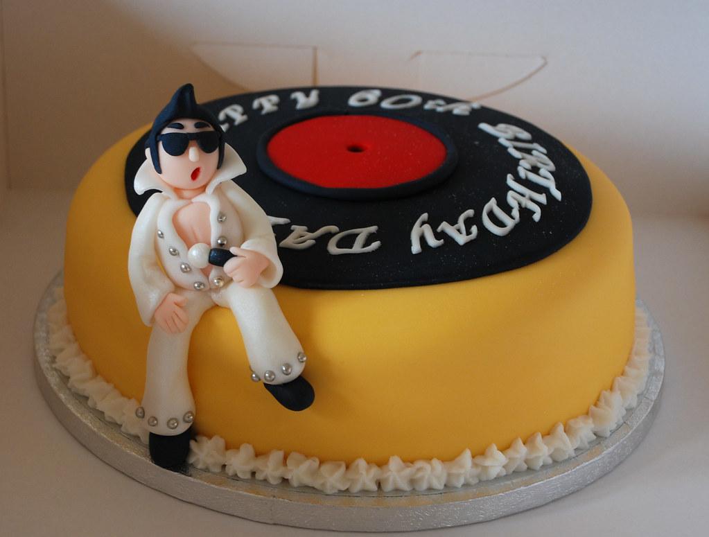 Pleasant Elvis Presley Birthday Cake Visit Me And Like My Facebook Flickr Birthday Cards Printable Opercafe Filternl