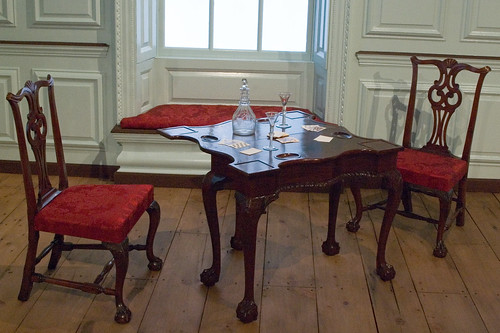 America - 1750s - Robert Hooper Dining Room - Card Table | by jondresner