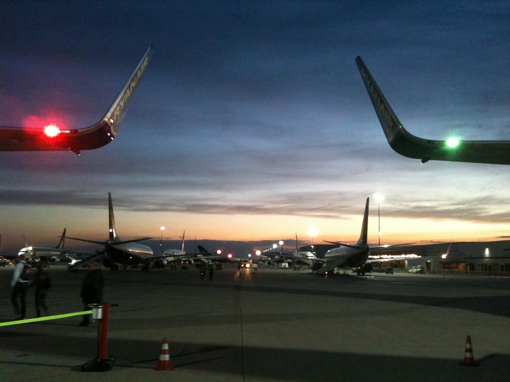 Flughafen Abflug