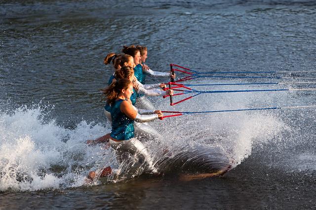 U.S. Water Ski Show Team - Scotia, NY - 10, Aug - 06
