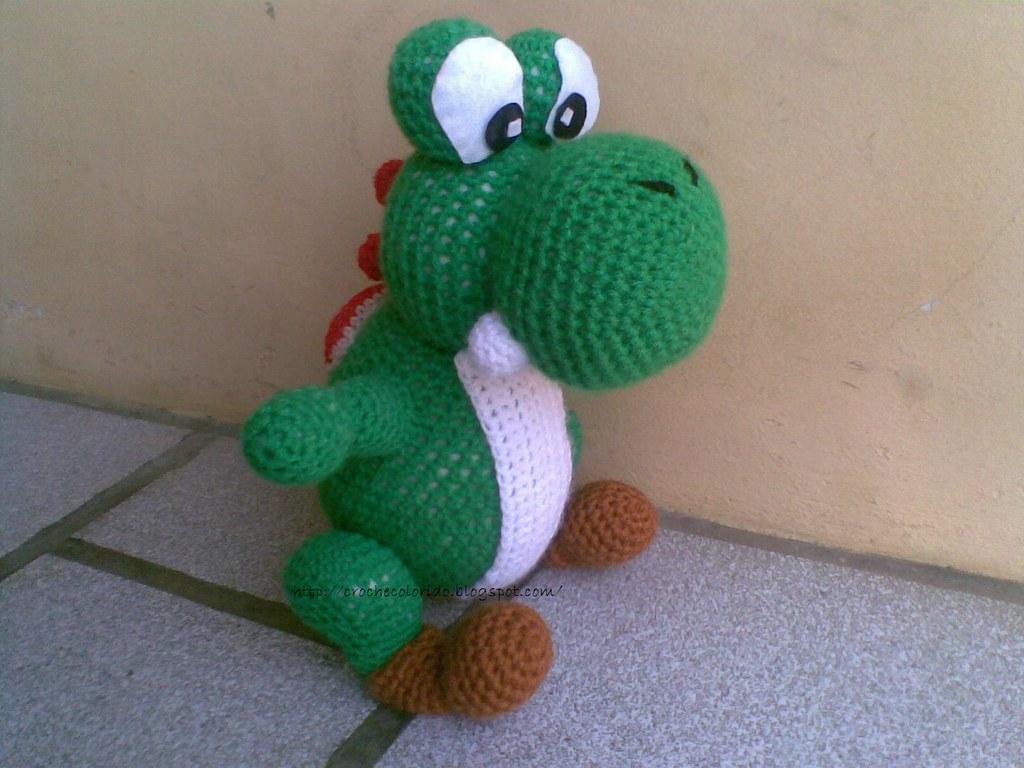 Cogumelo Super Mário Bros AMIGURUMI | Cogumelo de crochê ... | 768x1024