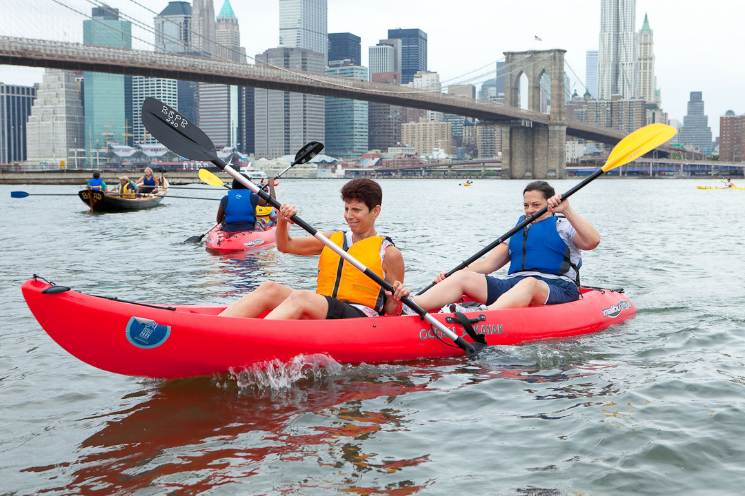 Brooklyn Bridge Park Kayaking (www.bbpboathouse.org)