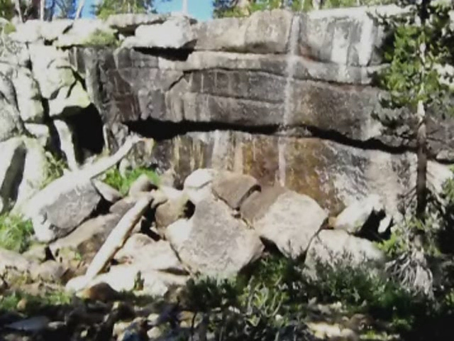 3071 Posed video of Vicki and I in front of the waterfall