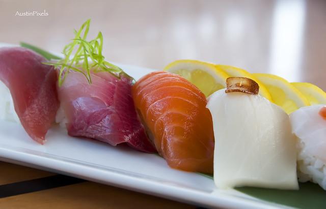 Mouth Watering Sashimi
