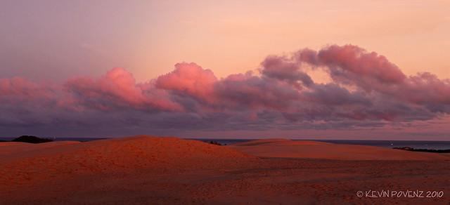 Sunrise - Silver Lake Sand Dunes