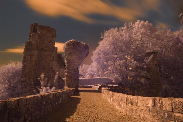 Rosslyn Castle in Infrared
