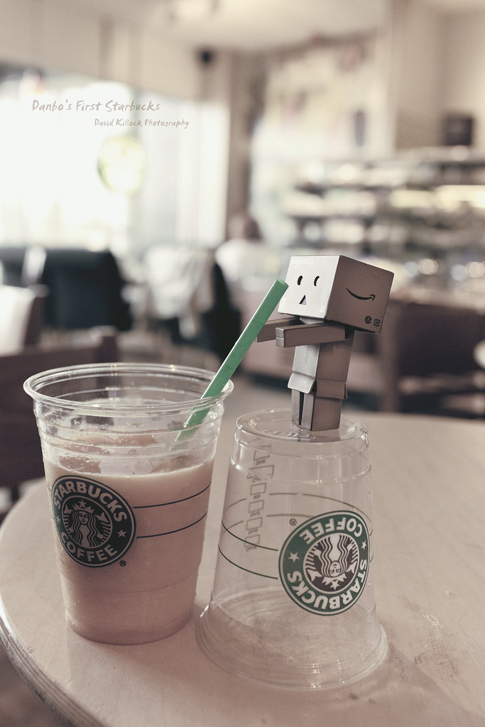 Danbo S First Starbucks This Shot Did Not Come Out How I W