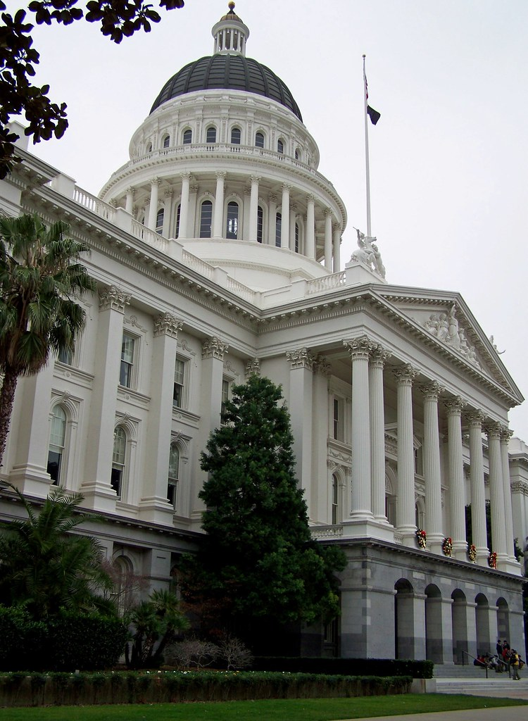 California - State Capitol Building - Sacramento