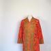 1960s Vera Neumann hyacinth print dress
