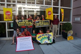 Make Big Oil Pay march to Chevron, EPA & BP 359