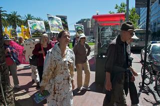 Make Big Oil Pay march to Chevron, EPA & BP 105