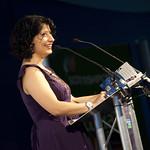 Shappi Khorsandi | Shappi Khorsandi at Edinburgh International Book Festival 2010