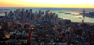New York City USA - Empire State Building South Manhatten Pano | by Daniel Mennerich