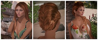 Hair Fair 2017 - Tetra - Cherry, Mango, Orange | by `*•.¸Whimsy¸.•*´