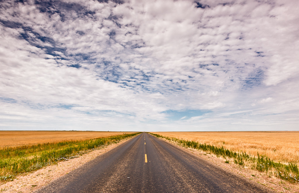 The Road is Long - Silverton, Texas