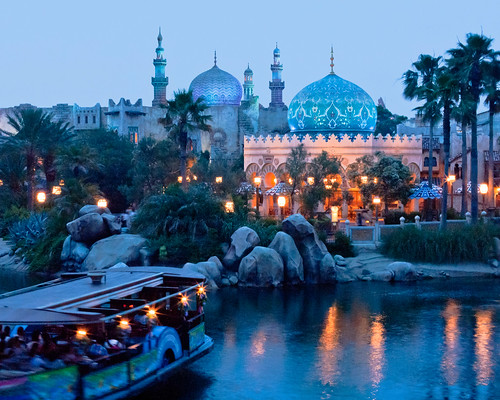 Arabian Coast at Dusk by Peter E. Lee