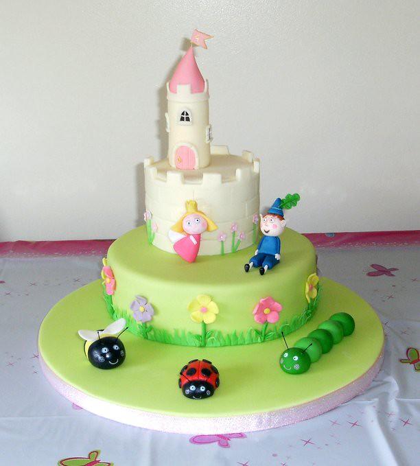 katie's ben  holly cake  today was my daughter katie's