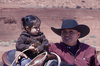 "Navajo Father & Daughter | by Gregory ""Slobirdr"" Smith"