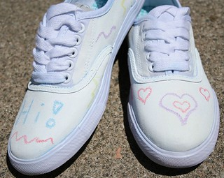 chalkboard shoes