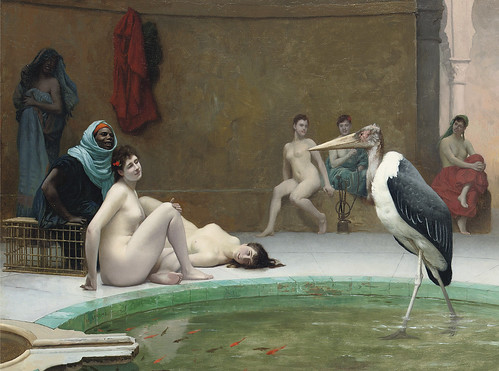"Jean-Léon Gérôme (French, 1824-1904), ""Le Marabout in the Harem bath"" | by sofi01"