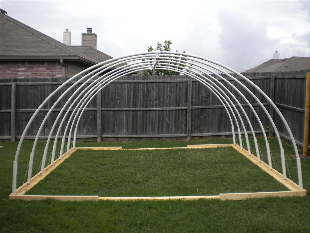 12 X 13 Pvc Vegetable Greenhouse Frame This Is The