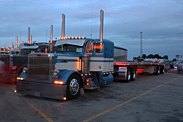 Walcott Trucker Jamboree Light Show