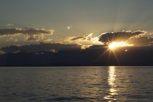 sunrise montana lakeside flathead