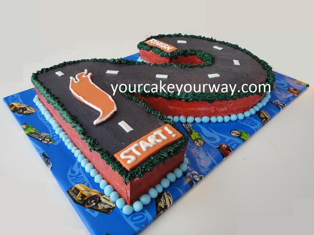 Astonishing Hot Wheels Birthday Cake This Hot Wheels Birthday Cake Is Flickr Funny Birthday Cards Online Alyptdamsfinfo