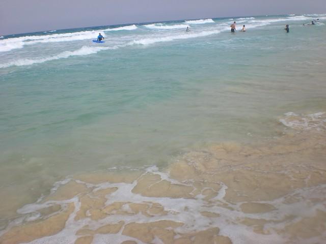 Oceano Atlantico - Spiaggia di Corralejo ( Fuerteventura )