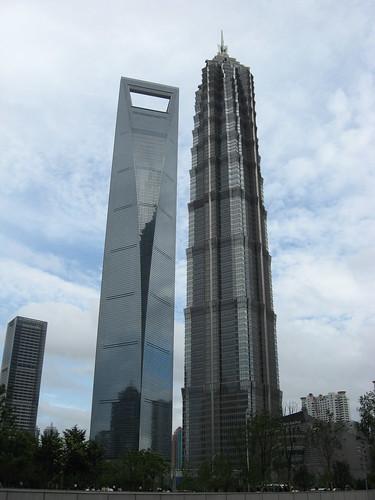 Shanghai skyscrapers | by WabbitWanderer