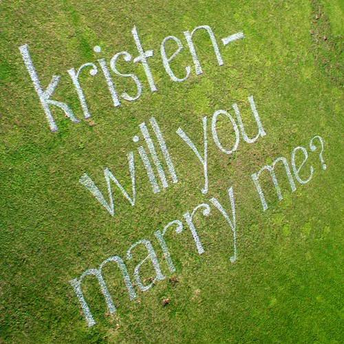 Kristen, will you marry me? | by lancewebel