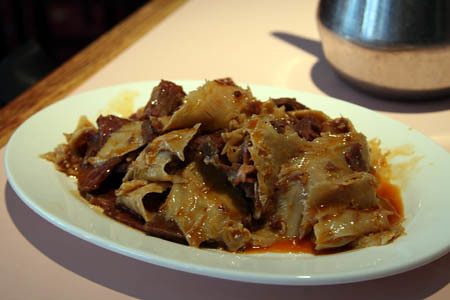 Tripe and Oxtail at Grand Sichuan in Chelsea, NYC