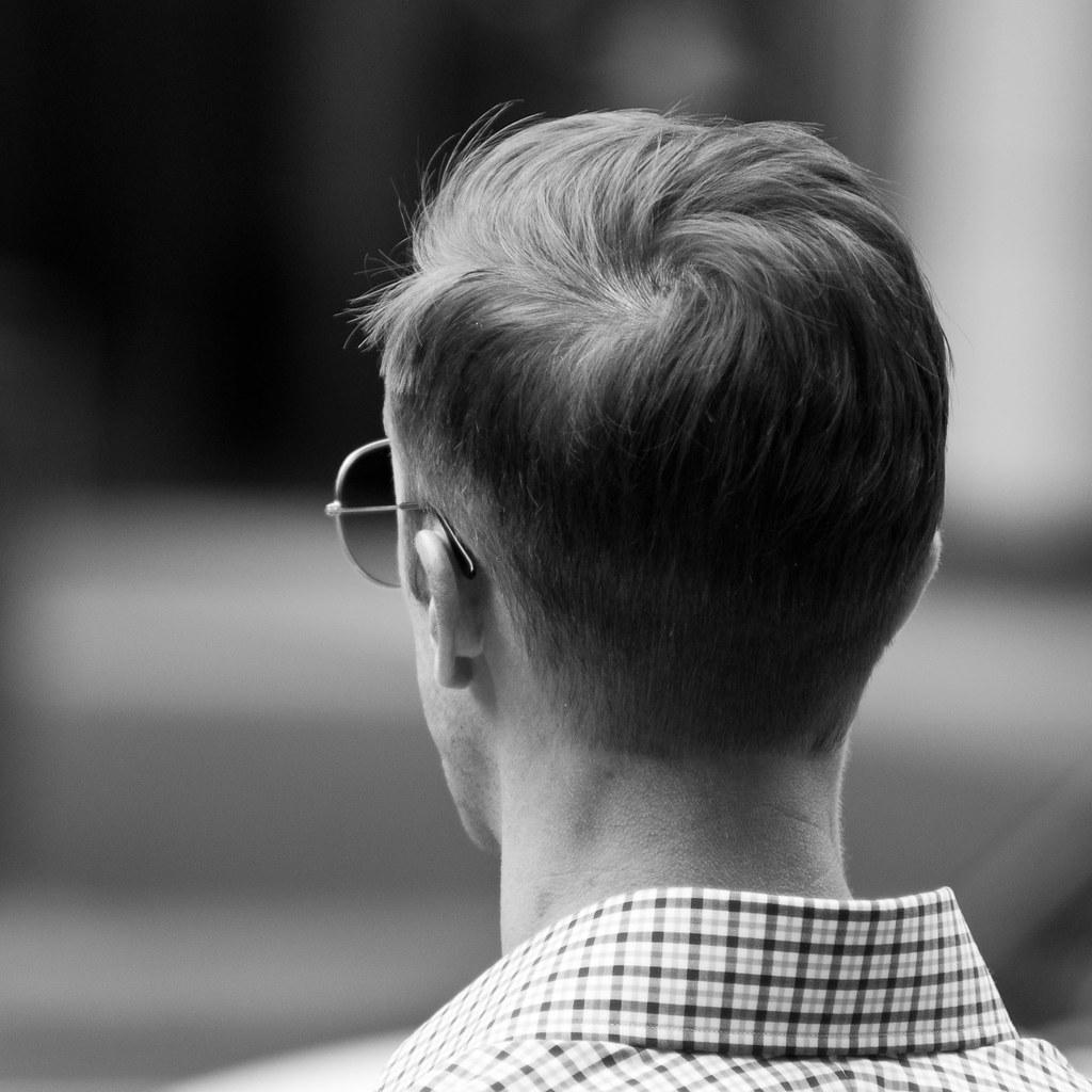 Guy S Head Back Of A Random Guys Head Taken On A Lunchtim Flickr