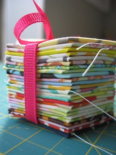 Hexie Swap Stack - my end | by Elena @ Hot Pink Stitches