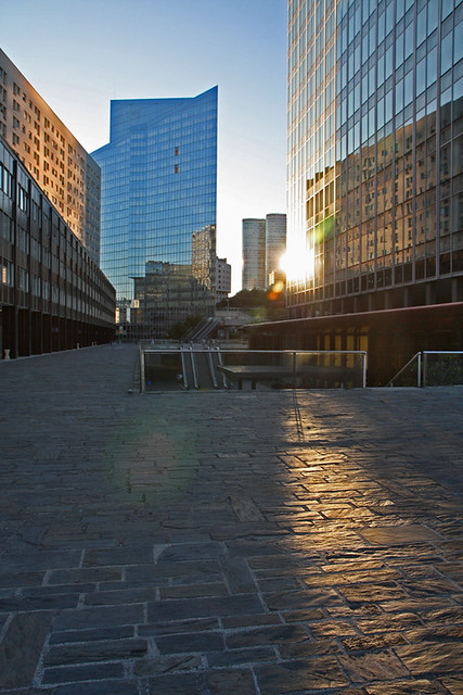 Reflets sur La Défense (4)