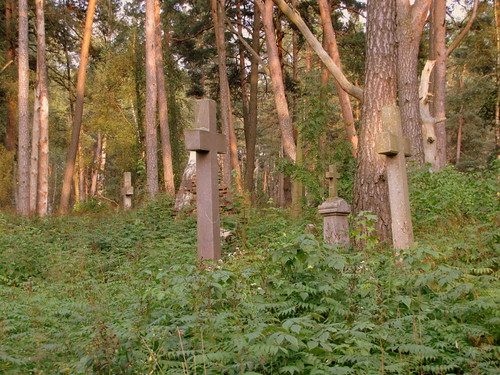 cemetery grave cross belarus