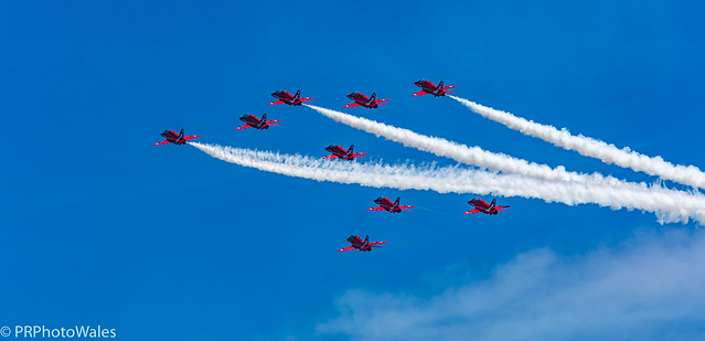 Red-Arrows-Formation (Explored)
