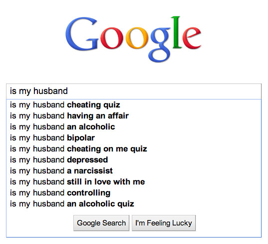Google autosuggest for