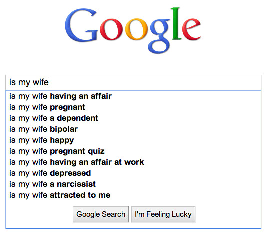 Google autosuggest for
