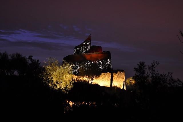 Estrella Star Tower at Night 001